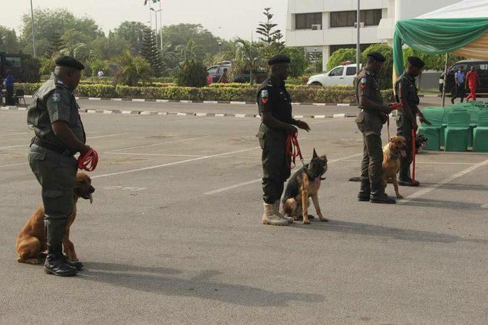 Photo of PHOTOS: Nigerian Police Deploys K-9 Trucks to Ease Dogs Transportation