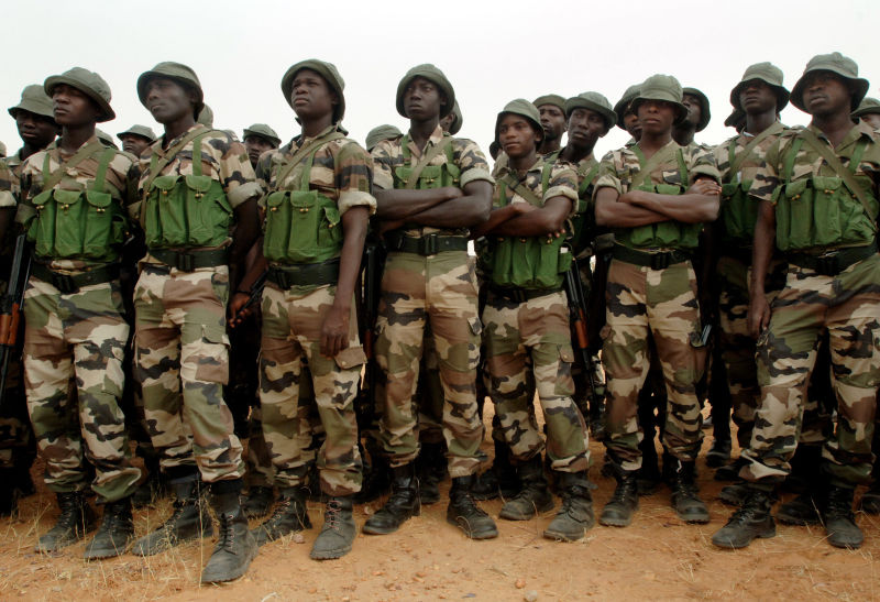 nigerian soldiers OkayNG - Nigeria Army to Recruit 12, 000 Soldiers, Says Buratai