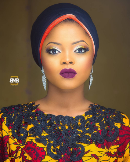 Photo of 5 Times Olayode Juliana 'Toyo Baby' Wowed Us In Lovely Asooke Designs