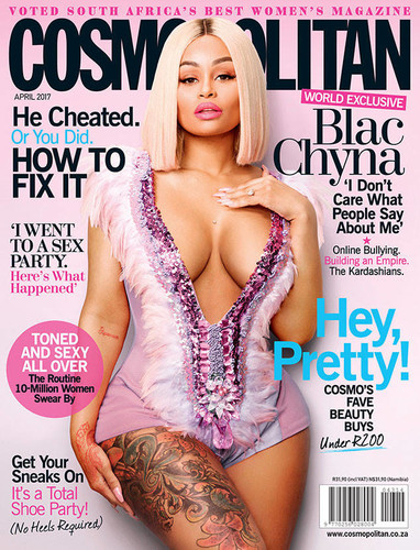 Photo of Blac Chyna Covers Cosmopolitan South Africa April Issue