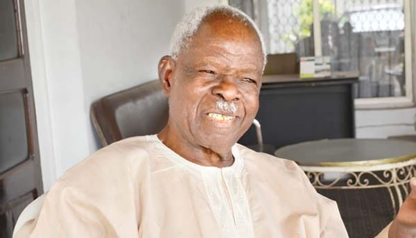 Photo of Former Western Region Governor, Adeyinka Adebayo Is Dead