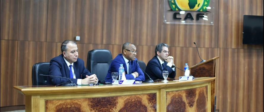 Photo of Ahmad Ahmed Begins Work at CAF Headquarters In Cairo