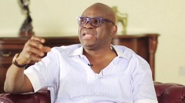 Photo of 'Obasanjo Does Not See Anything Good In Other People' – Fayose