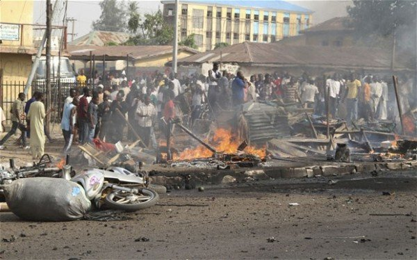 Photo of 6 Confirmed Dead As Suicide Bombers Hit Maiduguri