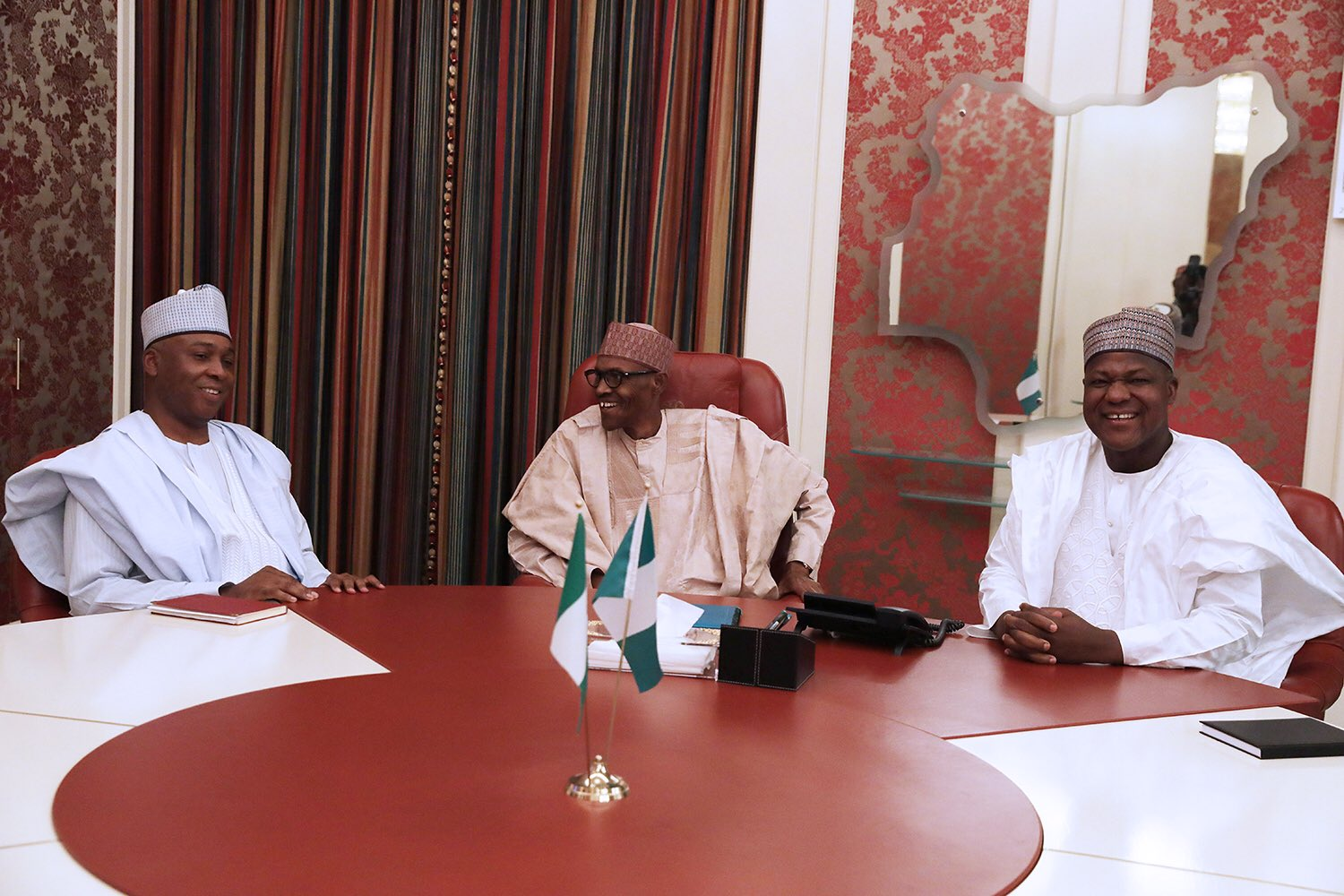 Photo of What We Discussed with President Buhari – Saraki, Dogara