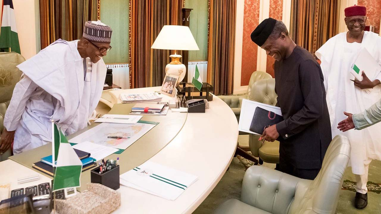 Photo of Buhari Is Now In Charge, I Am Back To My Position – Osinbajo