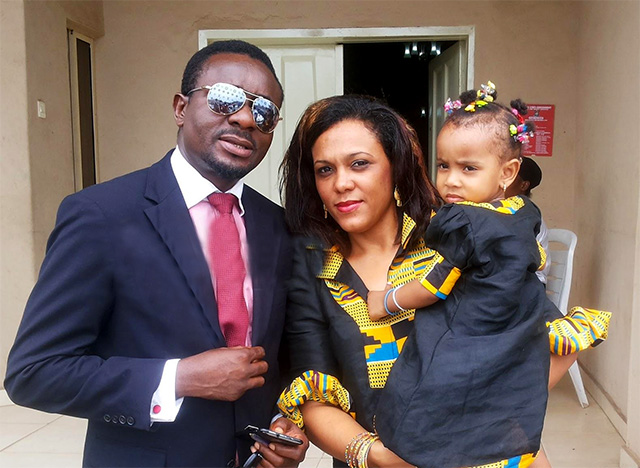 Emeka Ike and divorced wife OkayNG - Court Dissolves Marriage of Emeka Ike Over Alleged Incessant Battery