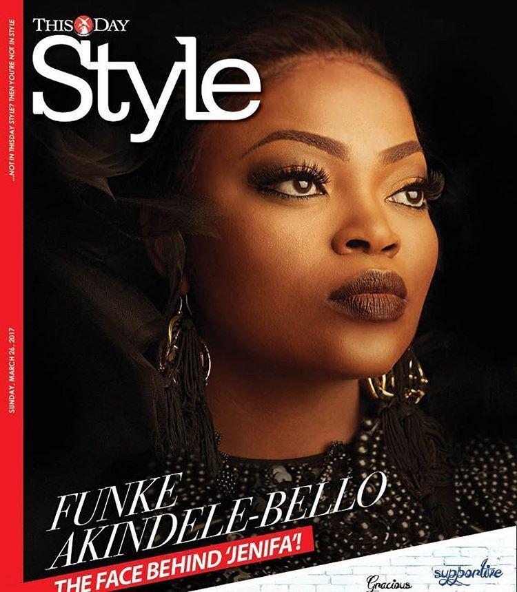 Photos: Funke Akindele Dazzles On The Covers Of ThisDay Style Magazine