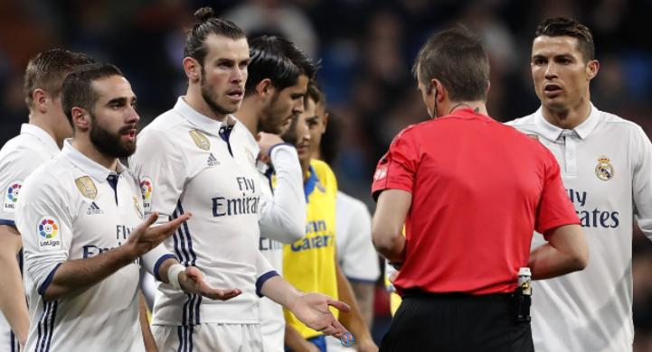 Gareth Bale OkayNG - Real Madrid: Gareth Bale Handed Two-match Ban Over Las Palmas Red Card