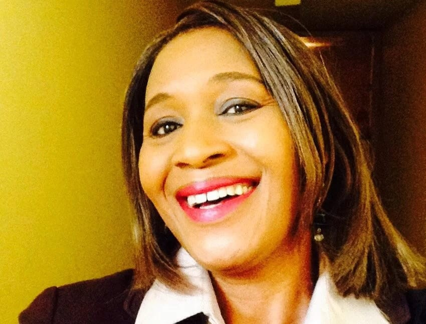 Photo of Kemi Olunloyo in Police Custody For Questioning