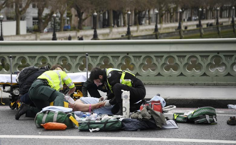 London Attack - Five People Dead, 40 Injured in London Terror Attack