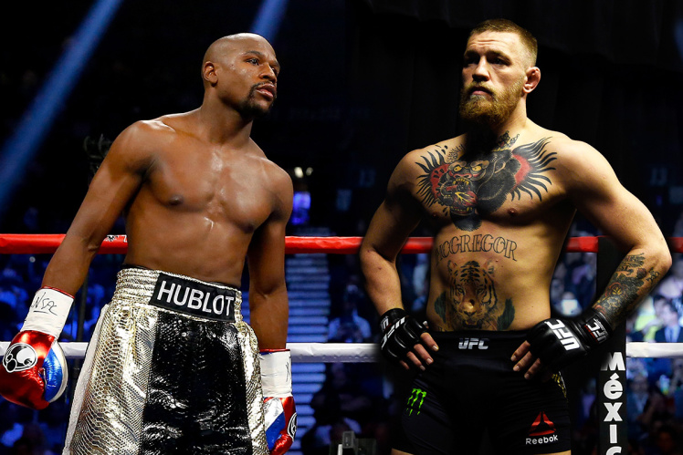 Mayweather McGregor OkayNG 1 - Floyd Mayweather Finally Set to Fight Conor McGregor in Las Vegas on August 26