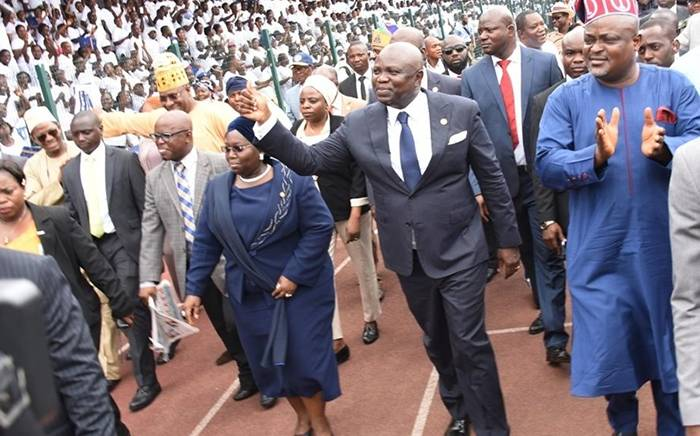 Neighbourhood4 - PHOTOS: Governor Ambode Inaugurates Neighbourhood Safety Corps In Lagos State