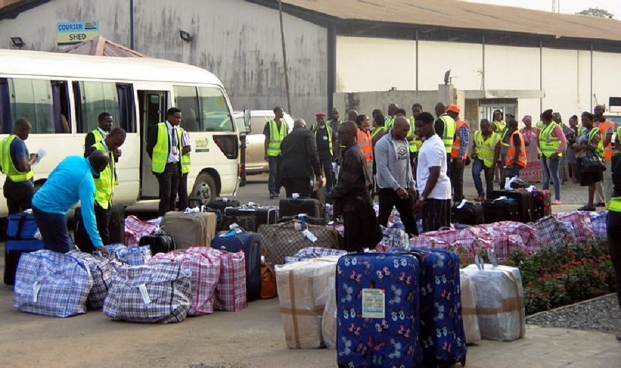 Photo of 35 Nigerians Deported From UK Over Immigration-related Offences