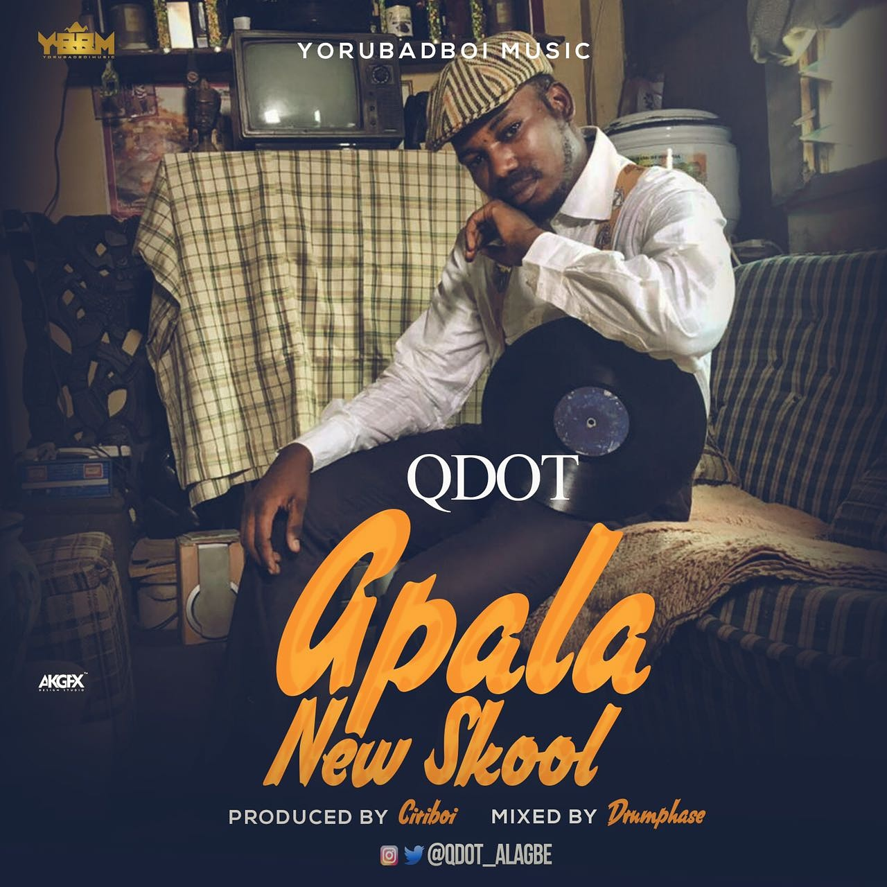 Photo of MUSIC: Qdot – 'Apala New Skool'