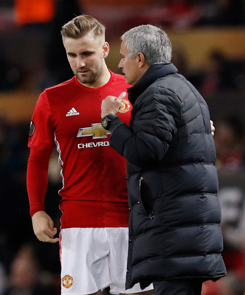 Photo of Luke Shaw Can Be Manchester United's Best Left-back, Says Mourinho