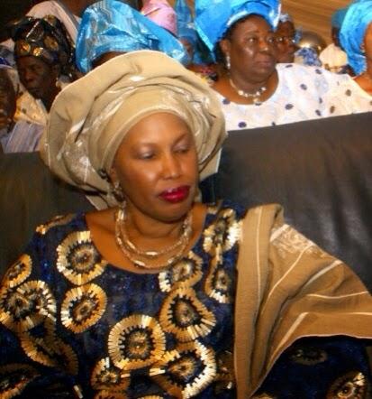 Photo of Obasanjo's Wife Loses Bid to Stop Son's Wedding
