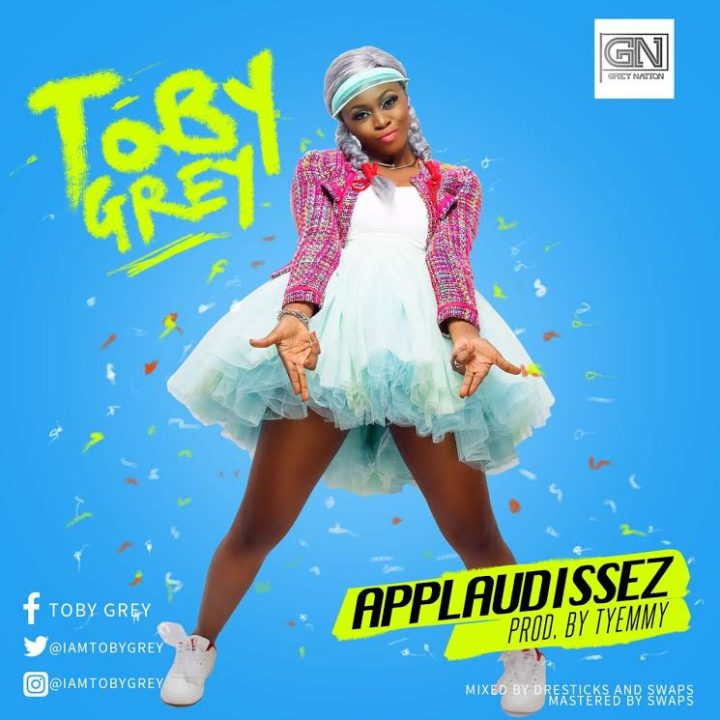 Toby Grey Applaudisse 720x720 - MUSIC: Toby Grey – 'Applaudisse'