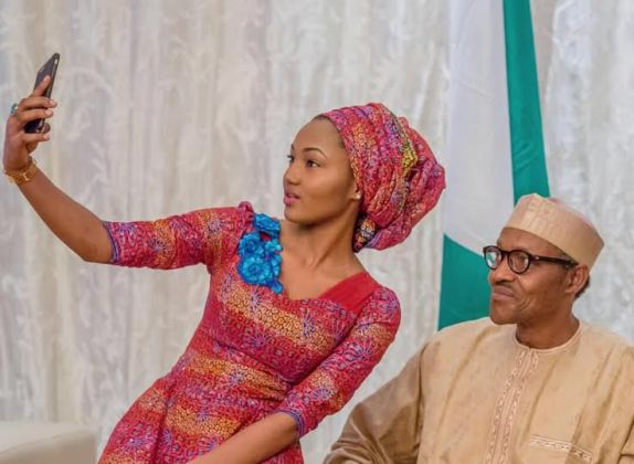 Zahra Buhari President Buhari Daughter s wedding - I Can't Describe The Love My Daddy Has for Nigeria and her People - Zahra Buhari-Indimi