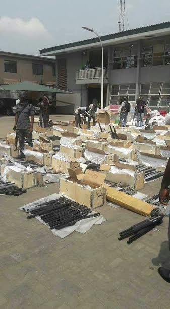 customs6 OkayNG 3 - Nigeria Customs Service Dismisses 4 Officers Linked to Importation of 661 Pump Action Rifles