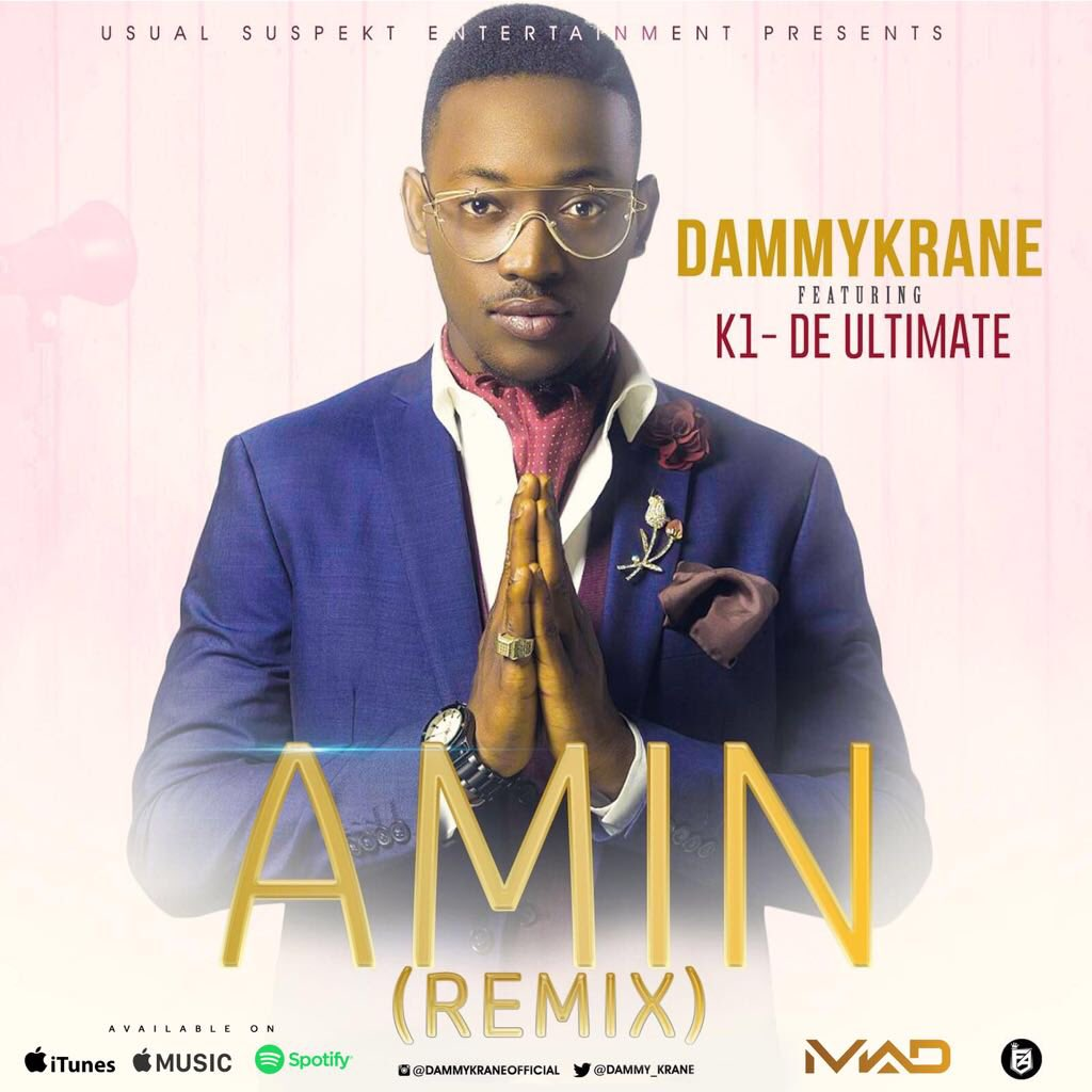 Photo of MUSIC: Dammy Krane ft. Kwam 1 – 'Amin' (Remix)