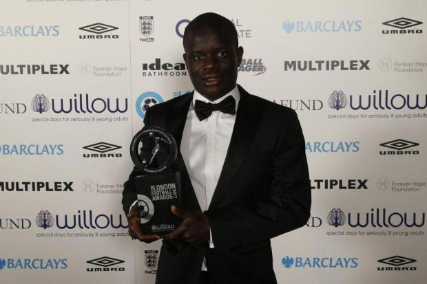 N'Golo Kante Named Premier League Player Of The Year