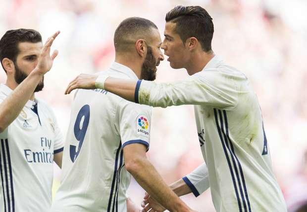 karim benzema cropped shv5tffhksju1l4hesatpaqc4 - VIDEO: Athletic Bilbao 1-2 Real Madrid (La Liga) (18-3-17) Highlight