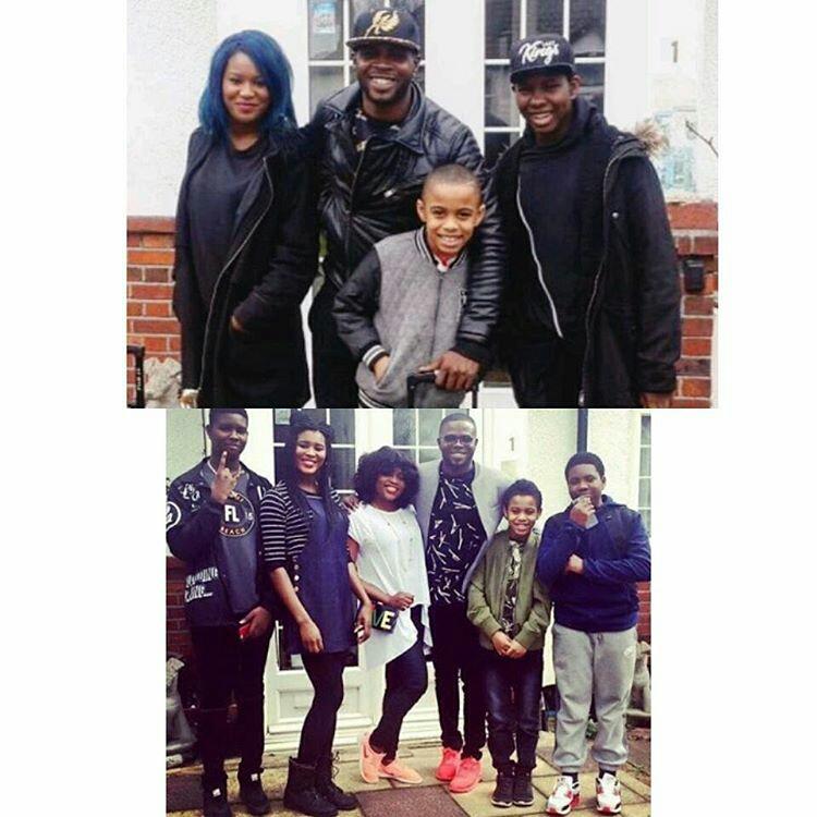 pbrk5glzgjrf - See Funke Akindele's Husband, JJC & His Grown Up Kids - PHOTOs