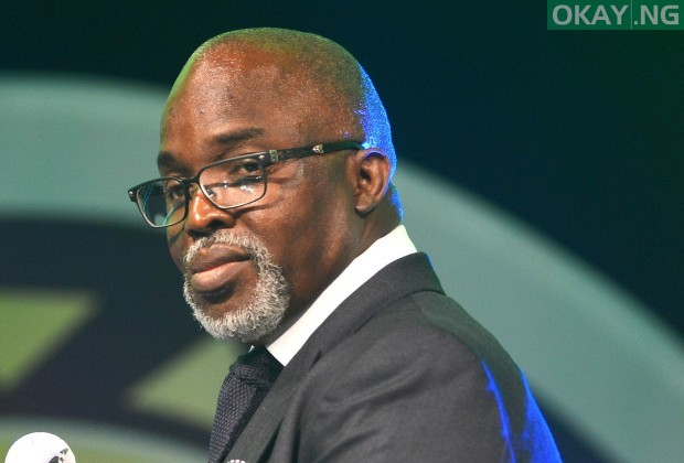 Photo of Amaju Pinnick Re-elected As NFF President till 2022