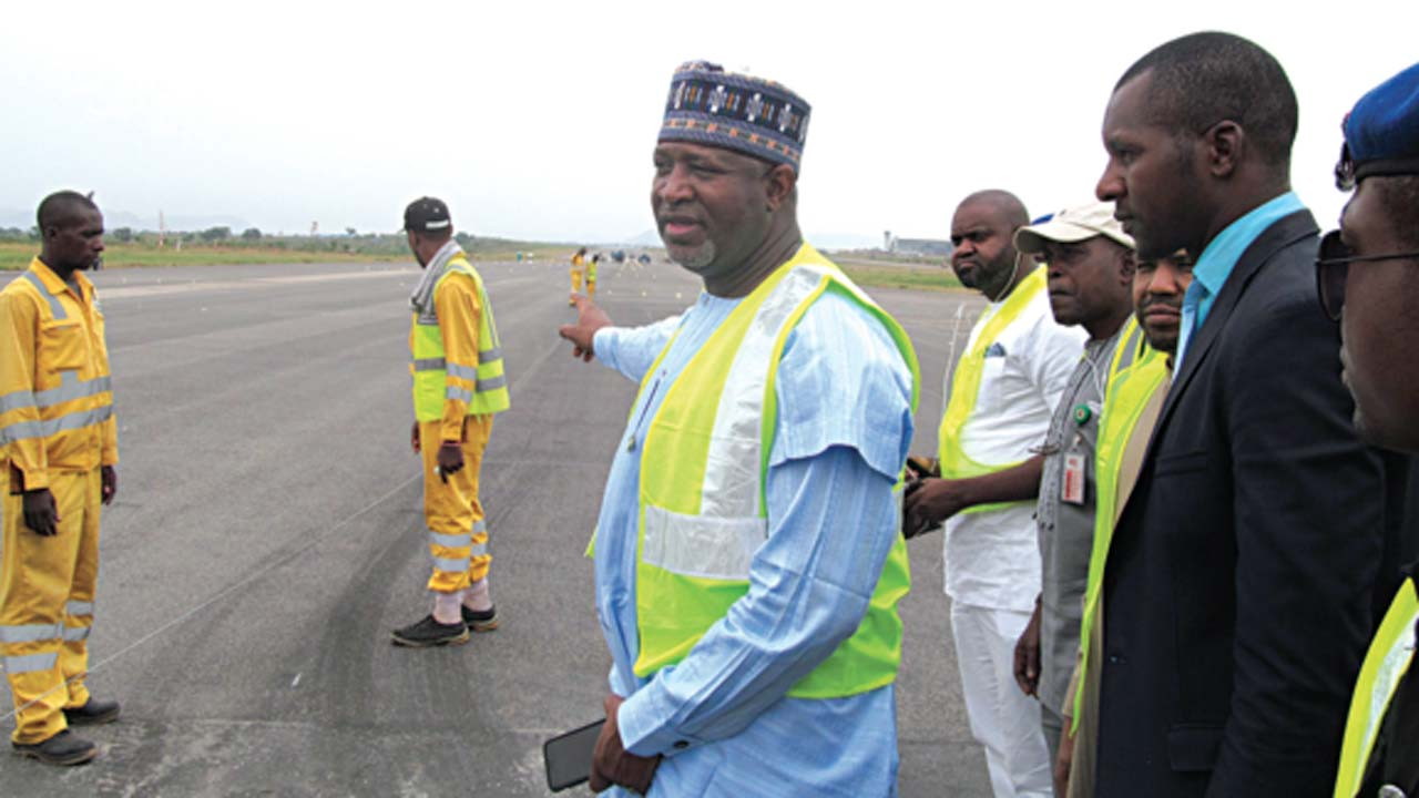 Abuja Airport 1 - Abuja Airport Runway Would Be Ready By April 17 - FAAN