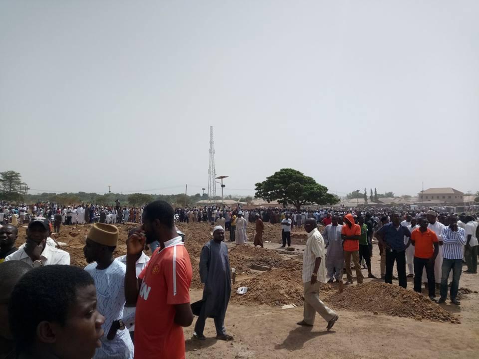 Photo of Ahmadu Chanchangi Laid to Rest in Kaduna