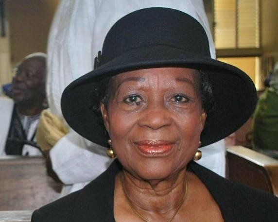 Folake Solanke - President Buhari Congratulates Nigeria's First Female Senior Advocate, Folake Solanke at 85