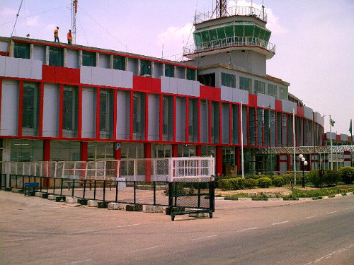 Kano Airport - Fire Guts Part of Kano Airport