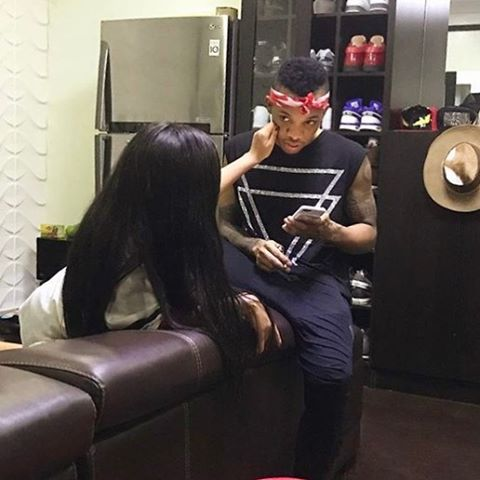 Photo of Lola Rae Sends Tekno Get-well-soon Message