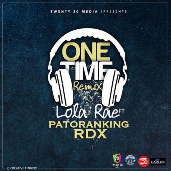 Photo of MUSIC: Lola Rae ft. Patoranking & RDX – 'One Time' (Remix)