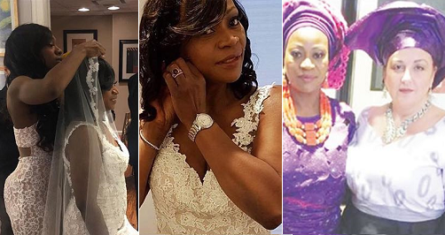 Photo of PHOTOS: Nigerian Lesbian Mother Marries her Partner in U.S