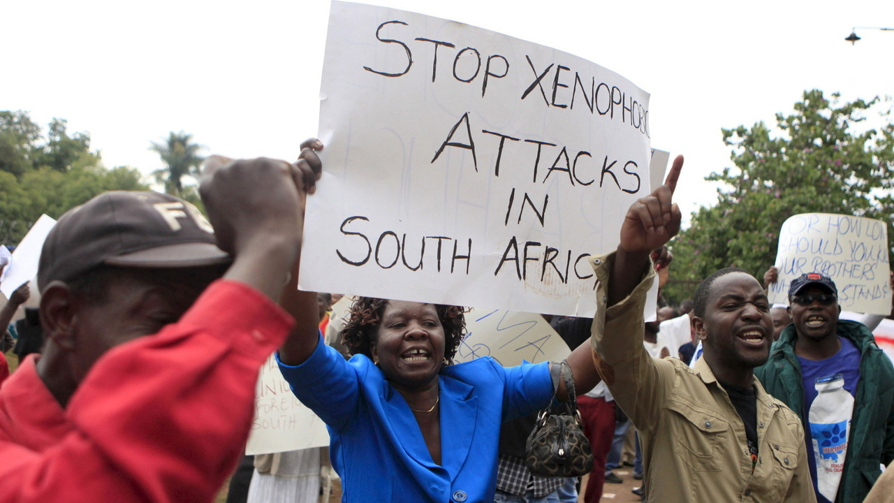 Xenophobia attacks - Nigeria Protests Fresh Xenophobic Attack in South Africa