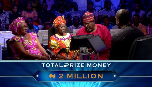 "YEKINI MOTHER - Rashidi Yekini's Mother Wins N2m on TV Show, ""Who Deserves to Be a Millionaire?"""