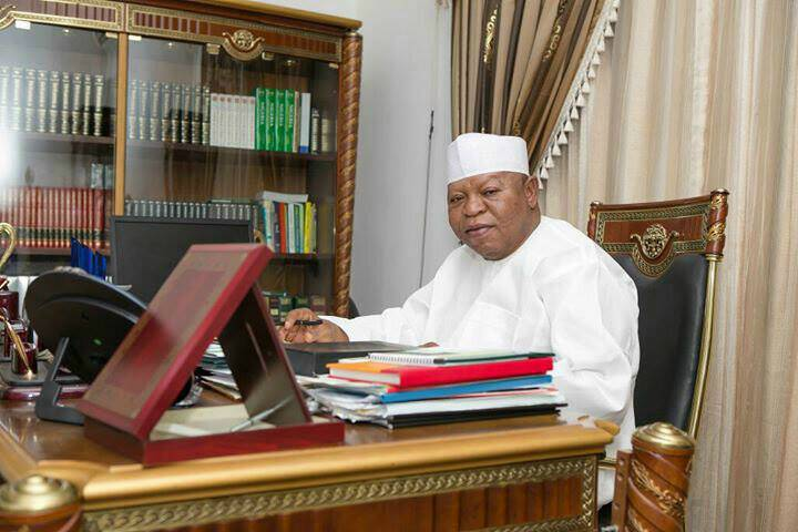 Photo of My Father Died of Ulcer Not Spiritual Attack – Abubakar Audu's Son