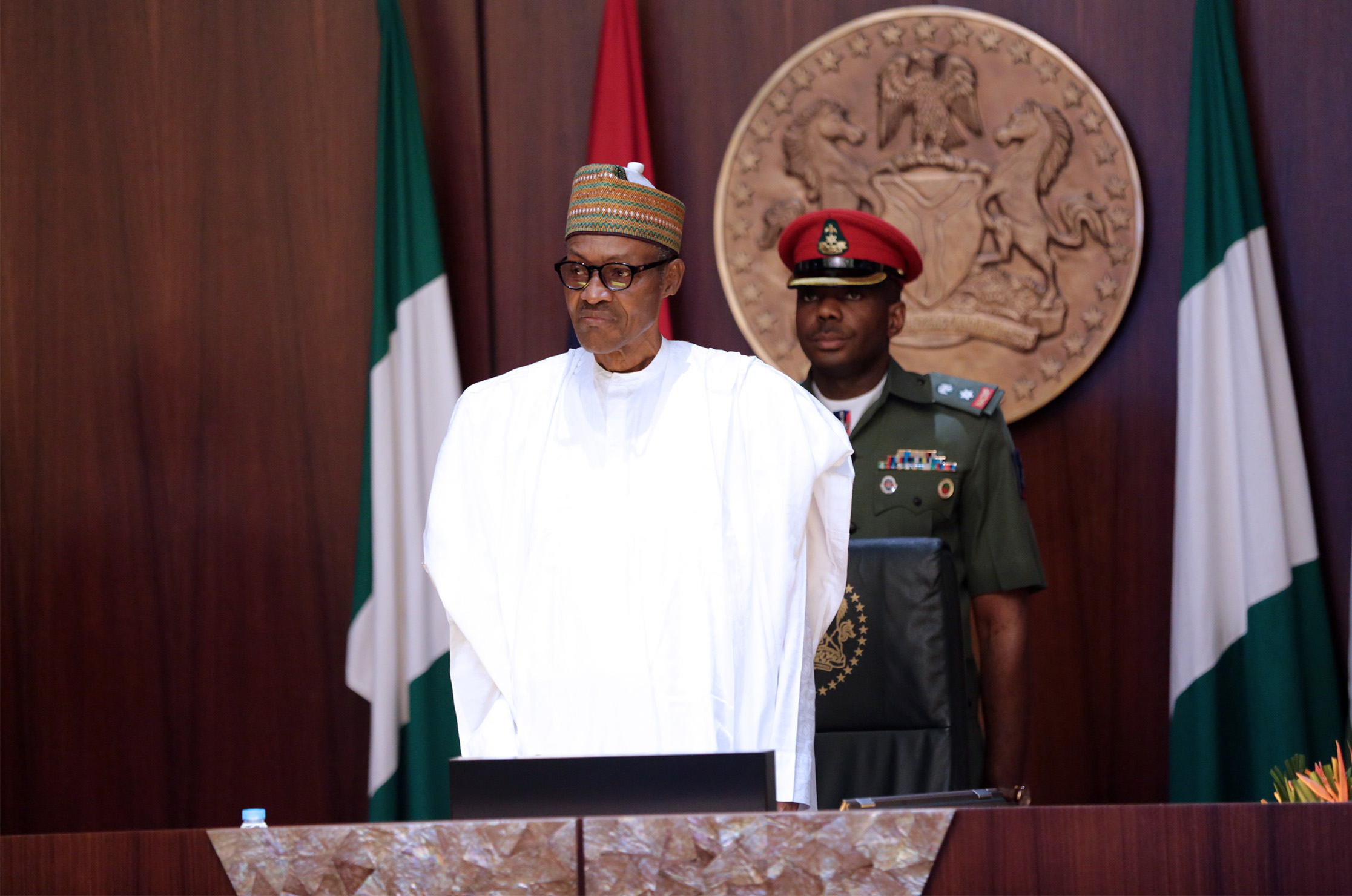 buhari at FEC - Buhari tells ministers to hand over on May 28