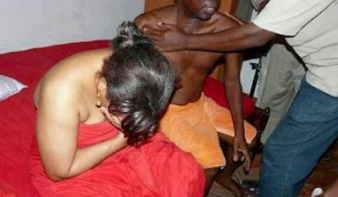 cheating - Angry Man Laments How He Caught His Wife Half-n*ked in Bed with Another Man