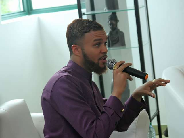Jidenna in Lagos, Considers Collaboration With Local Artists