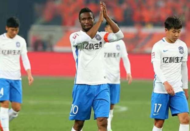 john obi mikel iw698lfbpw6l12k1oubfr8fjf - Mikel Obi Scores His First Chinese Super League Goal at Tianjin TEDA
