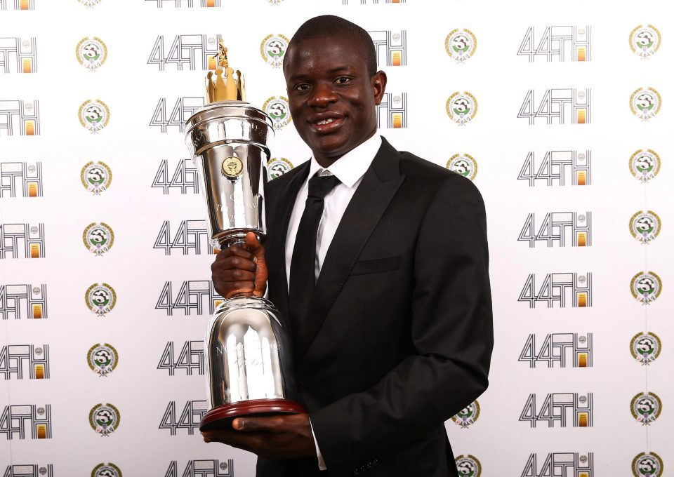Photo of Chelsea's N'Golo Kante Wins PFA Player of the Year Award 2017