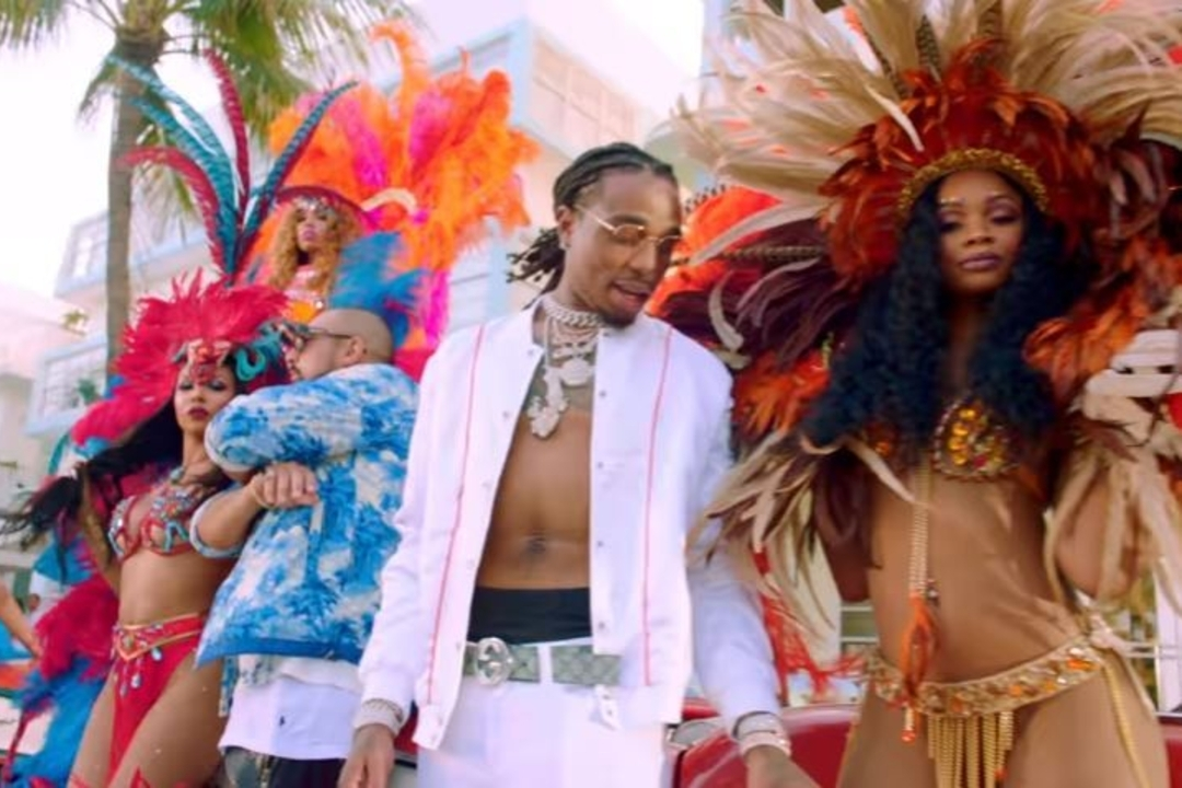 "Photo of Sean Paul and Migos Paints Miami Beach Red in ""Body"" Video – Watch"