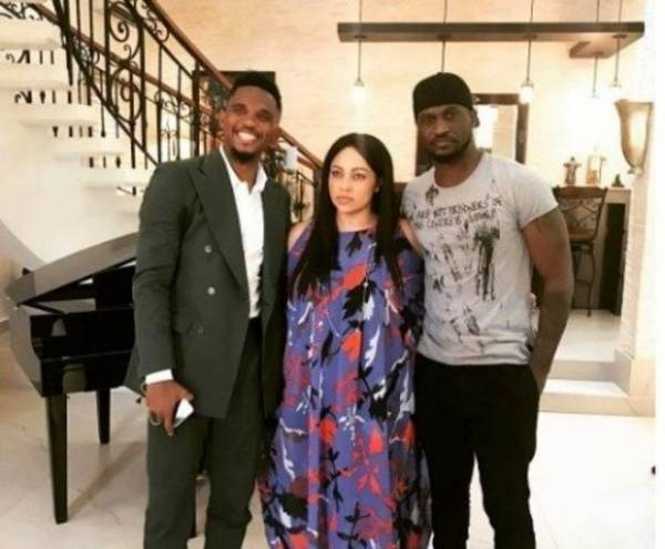 rsz peter okoye 1 e1492267198695 - Samuel Eto'o Visits Peter Okoye's Banana Island Mansion - PHOTOs