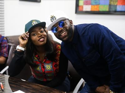 Photo of PHOTOS: BBNaija's Bisola Signs New Management Deal with TMC As She Reunites with Iyanya