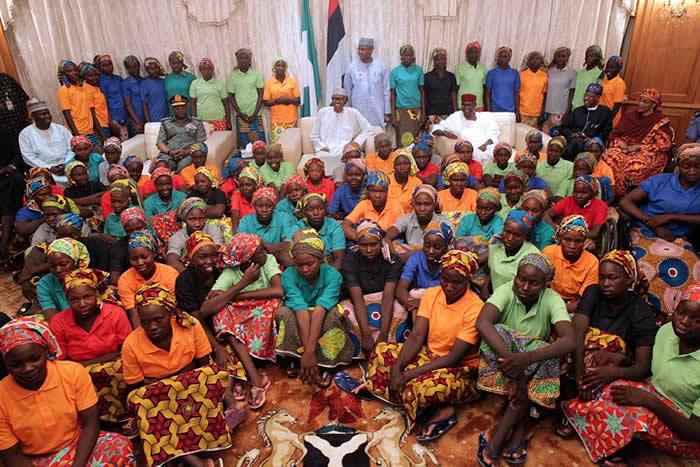 Buhari Chibok Girls