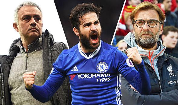 Klopp & Mourinho Go Head-to-head to Sign Cesc Fabregas