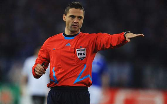Damir Skomina OkayNG - UEFA Picks Damir Skomina to Referee Europa League final